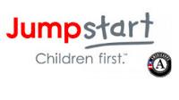 "Logo of ""Jumpstart: Children first"""